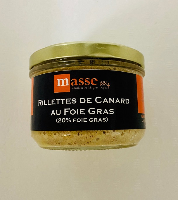 RILLETTE CAN 20%FOIE GRAS 190G